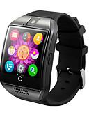 baratos Smart watch-Homens Relógio inteligente Digital Estilo Moderno Esportivo Silicone Não Impermeável Bluetooth Smart Digital Ao ar Livre Fashion - Preto Branco Dourado