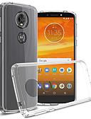 baratos Relógios de aço-Capinha Para Motorola Moto G5s Plus / Moto G5s / Moto E5 Plus Antichoque / Anti-poeira / Transparente Capa traseira Transparente Macia TPU