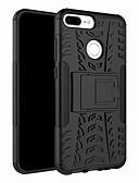 baratos Capinhas para Huawei-Capinha Para Huawei Huawei Honor 9 Lite Antichoque / Anti-poeira / Com Suporte Capa traseira Sólido / Armadura Rígida TPU / PC