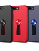 baratos Capinhas para iPhone-Capinha Para Apple iPhone 8 Plus / iPhone 8 / iPhone 7 Plus Áspero / Estampada Capa traseira Sólido PC