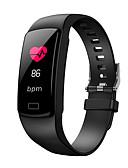 billige Quartz horlogesQuartz-y9 smart band hjertefrekvens tracker smart armbånd blodtrykk blod oksygen sport kalori beregning ios android