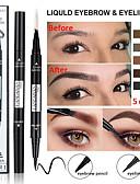 povoljno Haljine u plus veličini-dvostruka olovka za oči eyeliner vodootporna dva-u-jednom multi-funkcionalni dugotrajan makeup očiju.