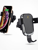 Χαμηλού Κόστους Καλώδια κινητού τηλεφώνου-D8 Ασύρματος Φορτιστής / Φορτιστές ασύρματου αυτοκινήτου Φορτιστής USB USB με καλώδιο / QC 2.0 Δεν υποστηρίζεται 1.1 A / 1 A DC 9V / DC 5V για