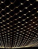 olcso Női hosszú kabátok és parkák-3m * 2m 200 LED-es világítótestek függönyfényes fehérfehér fényszóró színes fél dekoratív összekapcsolható 220-240v 1db