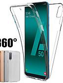 Χαμηλού Κόστους Αξεσουάρ Samsung-Θήκη 360 μοιρών για το γαλαξία της Samsung a70 a50 a40 a30 a20 a10 a9 2018 α7 2018 a8 plua 2018 a8 2018 a6 συν 2018 a6 2018 κάλυμμα σιλικόνης 2 σε 1 μπροστινή πίσω μαλακή θήκη tpu
