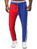 זול מכנסיים ושורטים לגברים-בגדי ריקוד גברים בסיסי רזה צ'ינו מכנסיים - תבנית גאומטרית פול US40 / UK40 / EU48 US42 / UK42 / EU50 US44 / UK44 / EU52