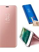 זול מגנים לטלפון-מגן עבור Samsung Galaxy S9 / S9 Plus / S8 Plus עמיד בזעזועים / עם מעמד כיסוי מלא אחיד קשיח עור PU / פלסטי
