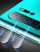 זול מגן מסך נייד-מגן מסך עבור huawei p30 Pro / huawei p30 לייט מזג זכוכית 1 PC מצלמה עדשה מגן High Definition (HD) / 9h קשיות / הוכחה פיצוץ