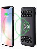 baratos Smart watch-carregador de bateria alternativo do usb sem fio do banco 2 do poder do qi 20000mah para o telefone móvel