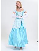 Χαμηλού Κόστους Λουλουδάτα φορέματα για κορίτσια-Πριγκίπισσα Στολές Γυναικεία Θέμα Παραμυθιού Halloween Επίδοση Στολές Ηρώων Θεματικό κόμμα Κοστούμια Γυναικεία Στολές χορού Πολυεστέρας Δαντέλα