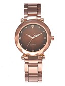 baratos Relógios de quartzo-Mulheres Relógio Elegante Quartzo Relógio Casual Analógico Minimalista - Preto Verde Roxo / Aço Inoxidável