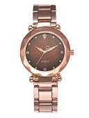 baratos Relógios-Mulheres Relógio Elegante Quartzo Relógio Casual Analógico Minimalista - Preto Verde Roxo / Aço Inoxidável