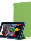 baratos Cases & Capas-Capinha Para Lenovo Lenovo Tab3 7 Antichoque / Anti-poeira Capa Proteção Completa Sólido Rígida PU Leather