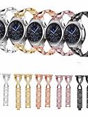 ราคาถูก วง Smartwatch-สายนาฬิกา สำหรับ Huami Amazfit A1602 / Huami Amazfit Stratos Smart Watch 2/2S Xiaomi การออกแบบเครื่องประดับ สแตนเลส สายห้อยข้อมือ
