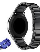 Χαμηλού Κόστους Smartwatch Bands-22mm ανοξείδωτο χάλυβα ρολόι μεταλλική ταινία αντικατάστασης για τα εργαλεία s3 classic / frontier έξυπνο / samsung ρολόι γαλαξιών 46mm / ticwatch pro / ticwatch s2 e2