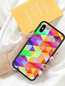 baratos Capinhas para Huawei-Caso para iphone x xs max xr xs volta caso capa mole tpu triângulo colorido macio tpu para iphone5 5s se 6 6 p 6 s sp 7 7p 8 8 p