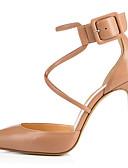 povoljno Haljine za NG-Žene Cipele na petu Stiletto potpetica Krakova Toe Kopča Eko koža minimalizam Proljeće ljeto / Jesen zima Nude / Crn / Zabava i večer