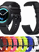 billige Smartwatch Bands-Klokkerem til Gear Sport / Gear S2 / Gear S2 Classic Samsung Galaxy Sportsrem / Klassisk spenne Silikon Håndleddsrem