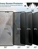 baratos Protetores de Tela para iPhone-AppleScreen ProtectoriPhone XS Dureza 9H Protetor de Tela Frontal 1 Pça. Vidro Temperado / iPhone 6s Plus / 6 Plus / iPhone 6s / 6