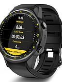 baratos Smart watch-f1 smart watch bt rastreador de fitness suporte notificar / monitor de freqüência cardíaca built-in gps esportes smartwatch compatível samsung / iphone / android phones