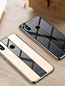 זול מגנים לטלפון-מגן עבור Xiaomi Xiaomi Redmi Note 5 Pro / Xiaomi Redmi Note 6 / Xiaomi Redmi S2 ציפוי כיסוי אחורי אחיד קשיח זכוכית משוריינת
