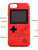 baratos Capinhas para iPhone-Capinha Para Apple iPhone XS / iPhone X / iPhone 8 Plus Caso do jogo Capa traseira Desenhos 3D Macia silica Gel
