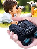 baratos Conjunto-8 X 21 mm Binóculos Porro Impermeável Portátil Visão noturna em baixa luz Revestimento Múltiplo Total BAK4 Acampar e Caminhar Caça e Pesca Viajar Visão Nocturna / Observação de Pássaros