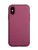 billige iPhone-etuier-d& etui for apple iphone xs max / iphone 8 pluss støtsikker bakomslag / bølger hard tpu / pu skinn til iphone 6 / iphone 6 plus / iphone 6s