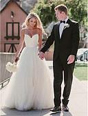 povoljno Vjenčanice-A-kroj Srcoliki izrez Jako kratki šlep Til Izrađene su mjere za vjenčanja s po LAN TING Express