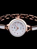 baratos Relógios de quartzo-Mulheres Relógio Elegante Quartzo Relógio Casual Analógico Clássico - Prata Rosa
