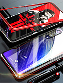 זול מגנים לטלפון-מגנטו מגנטי ספיחה מתכת מקרה זכוכית עבור xiaomi mi 9 se / mi 9 חזרה במקרים כיסוי עבור xiaomi mi 8 se / mi 8
