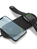 baratos Bandas de Smartwatch-Smartwatch Charger / Carregador Portátil / Carregador Sem Fios Carregador USB USB Carregador Sem Fios 1.67 A DC 9V / DC 5V para Apple Watch Series 3 / Apple Watch Series 2 / Apple Watch Series 1