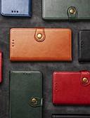 billige Etuier/deksel til Xiaomi-Etui Til Xiaomi Xiaomi Redmi 7 / Xiaomi Mi 9T / Xiaomi Mi 9T Pro Lommebok / Kortholder / Støtsikker Heldekkende etui Ensfarget Hard PU Leather