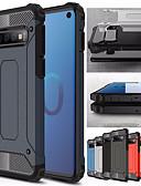 billige Samsung-tilbehør-støtdempende telefonveske til Samsung Galaxy S10 Plus S10e S10 5g S10 Gummistøvler Hybrid PC Hard Cover for S9 Plus S9 S8 Plus S8 S7 Kanten S7 TPU Veske