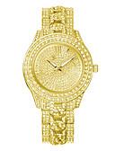 povoljno Kvarcni satovi-Ženeva žene modni kvarcni sat kristal rhinestone satovi dame high-end legure ručni sat