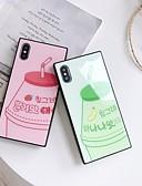 olcso iPhone tokok-Case Kompatibilitás Apple iPhone XS / iPhone XR / iPhone XS Max DIY Fekete tok Egyszínű TPU