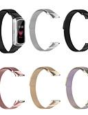 billige Smartwatch Bands-magnetisk rustfritt stål erstatningsurebånd for samsung galaxy fit sm-r370 armbånd