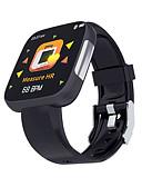baratos Smart watch-Relógio inteligente Digital Estilo Moderno Esportivo Silicone 30 m Impermeável Monitor de Batimento Cardíaco Bluetooth Digital Casual Ao ar Livre - Preto Rosa claro