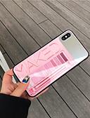 baratos Capinhas para iPhone-Capinha Para Apple iPhone XS / iPhone XR / iPhone XS Max Espelho / Ultra-Fina / Estampada Capa traseira Palavra / Frase TPU / PC