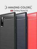 Χαμηλού Κόστους Θήκη Samsung-tok Για Samsung Galaxy Σημείωση της Samsung 10 / Galaxy Σημείωση 10 Plus Προστασία από τη σκόνη / Εξαιρετικά λεπτή Πίσω Κάλυμμα Μονόχρωμο Ινα άνθρακα