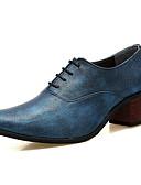 ราคาถูก เบลเซอร์ &สูทผู้ชาย-สำหรับผู้ชาย รองเท้าสบาย ๆ PU ฤดูร้อน รองเท้า Oxfords สีดำ / สีเงิน / แดง / พรรคและเย็น