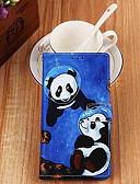 billige iPhone-etuier-etui til apple iphone xr / iphone xs maks lommebok / kortholder / med stativ kroppsvesker undersjøisk panda pu skinn til iphone 6s / 6s pluss / 7/7 pluss / 8/8 pluss / x / xs