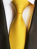 olcso Férfi nyakkendők és csokornyakkendők-Férfi Csíkos Party / Munkahelyi - Nyakkendő