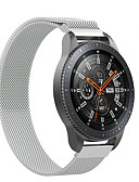 billige Smartwatch Bands-20 / 22mm milanesisk netting magnetisk armbåndbånd for samsung galakseur 42 / 46mm