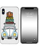 billige Etuier/deksler til Huawei-etui til iphone x xs maks xr xs bak veske mykt deksel tpu kreativt mønster tegneserie bil myk tpu for iphone5 5s se 6 6p 6s sp 7 7p 8 8p16 * 8 * 1
