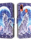 baratos Cases & Capas-Capinha para samsung galaxy a6 (2018) / a6 plus / a7 (2018) carteira / porta-cartão / flip capa proteção completa animal pu leather para samsung galaxy a10 / a20 / a20e / a30 / a40 / a50 / a60 / a70 /