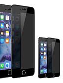 baratos Other Screen Protectors-protetor de tela para iphone 6 / 6s / 6s plus / 7 / 7plus / 8/8 plus privacidade vidro temperado anti-espião 1 pc protetor de tela frontal de alta definição (hd) / dureza 9h