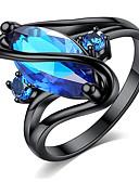 Χαμηλού Κόστους Ρολόγια Βραχιόλια-Γυναικεία Δαχτυλίδι Cubic Zirconia 1pc Βυσσινί Μπλε Πράσινο Ανοικτό Επιχρυσωμένο Κράμα Geometric Shape Στυλάτο Πάρτι Καθημερινά Κοσμήματα Κλασσικό Γράμμα Απίθανο