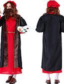 Χαμηλού Κόστους Φορέματα για κορίτσια-Υπέρδιπλο Στολές Ηρώων Σύνολα Χορός μεταμφιεσμένων Ενηλίκων Ανδρικά Στολές Ηρώων Halloween Halloween Γιορτές / Διακοπές Πολυεστέρας Μαύρο Ανδρικά Αποκριάτικα Κοστούμια