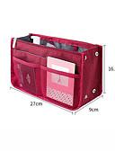billige MacBook-tilbehør-Reiseveske / Håndveske Multifunksjonell / Vaskbar / Utendørs til Terylene / Nett / Oxford Unisex Dagligdags Brug / Reise